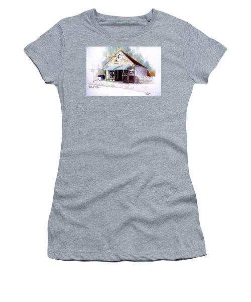 King's Ice Cream Women's T-Shirt (Junior Cut) by William Renzulli