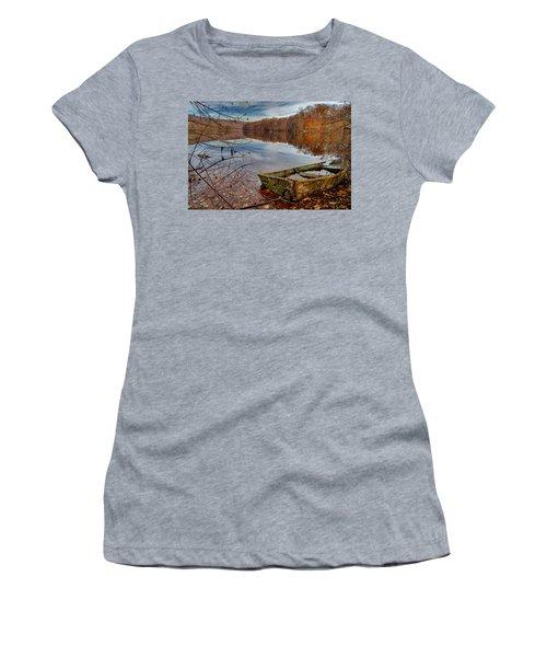 Kiss My Bass Women's T-Shirt (Junior Cut) by Craig Szymanski
