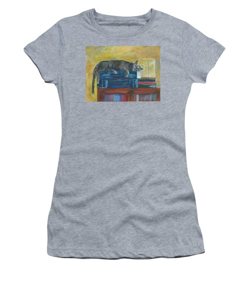 Kitty Comfort Women's T-Shirt (Athletic Fit)