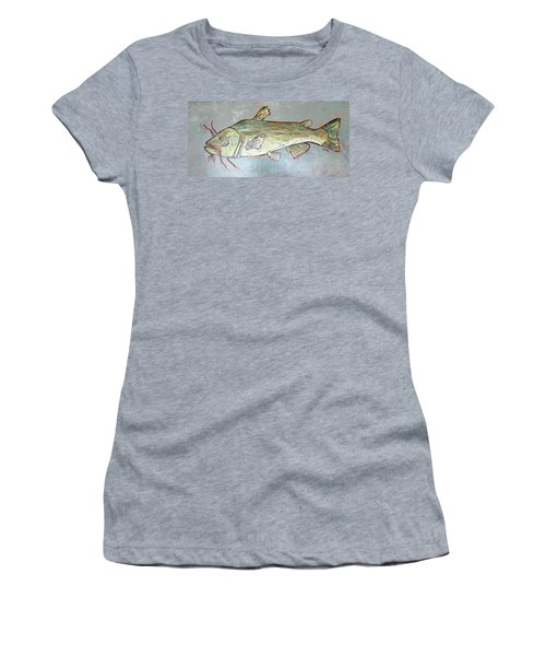 Kitty The Catfish Women's T-Shirt (Athletic Fit)