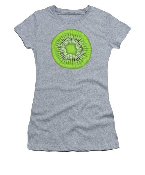 Kiwi Kaliedoscope Women's T-Shirt (Athletic Fit)