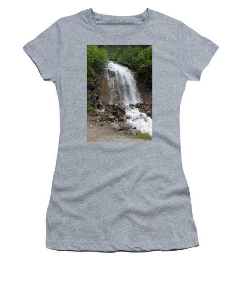 Klondike Waterfall Women's T-Shirt (Athletic Fit)
