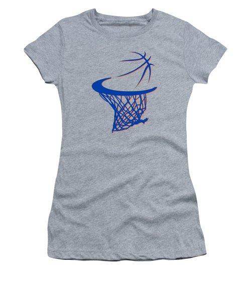 Knicks Basketball Hoop Women's T-Shirt
