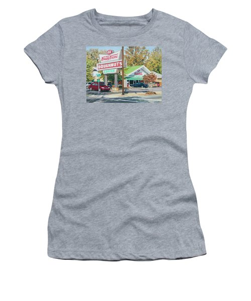 Krispy Kreme At Daytime Women's T-Shirt (Athletic Fit)