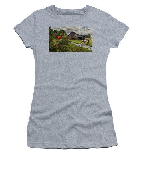 La Buena Vida Women's T-Shirt (Junior Cut) by Don Olea