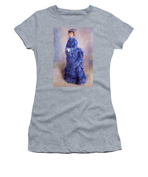 La Parisienne The Blue Lady  Women's T-Shirt