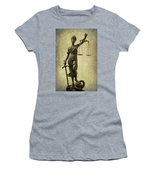 Lady Justice Women's T-Shirt