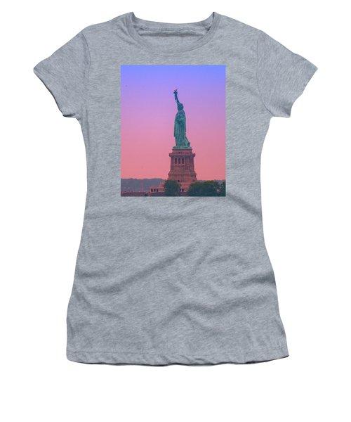 Lady Liberty, Standing Tall Women's T-Shirt