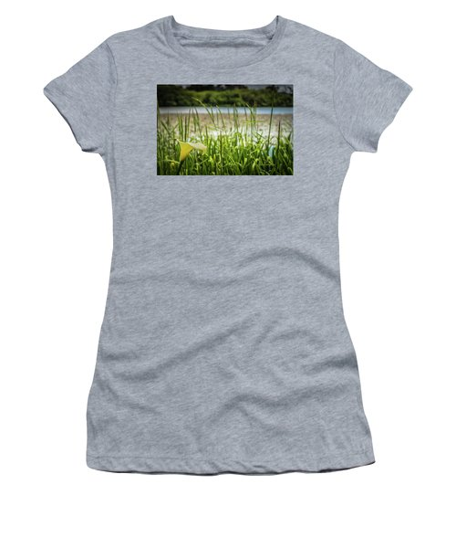 Lake Lily Women's T-Shirt (Athletic Fit)