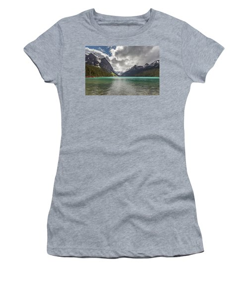 Lake Louise, Banff National Park Women's T-Shirt (Athletic Fit)
