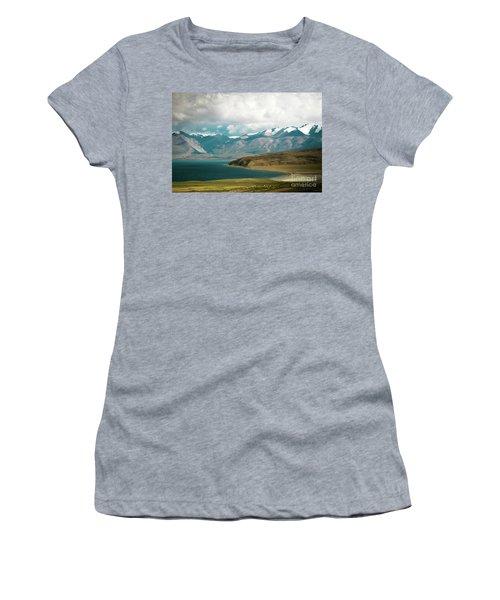 Lake Manasarovar Kailas Yantra.lv Tibet Women's T-Shirt