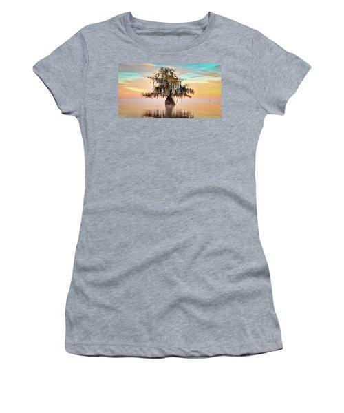 Lake Maurepas In Pastels Women's T-Shirt