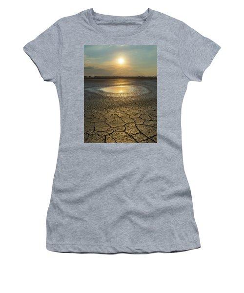 Lake On Fire Women's T-Shirt
