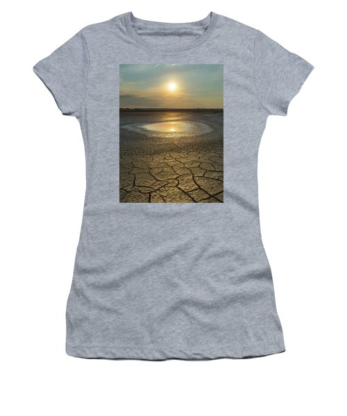 Lake On Fire Women's T-Shirt