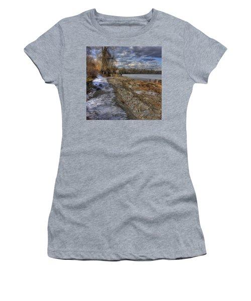 Lake Pend D'oreille At Humbird Ruins Women's T-Shirt