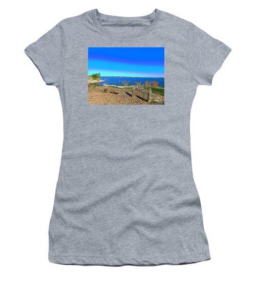 Lake Pueblo Painted Women's T-Shirt (Athletic Fit)