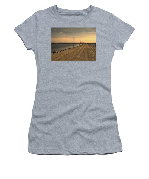 Lake Road Women's T-Shirt (Athletic Fit)