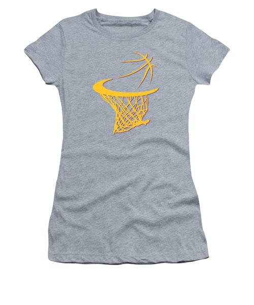 Lakers Basketball Hoop Women's T-Shirt (Athletic Fit)