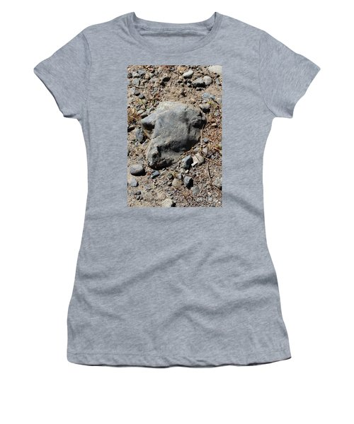 Women's T-Shirt (Athletic Fit) featuring the photograph Lambchop by Marie Neder