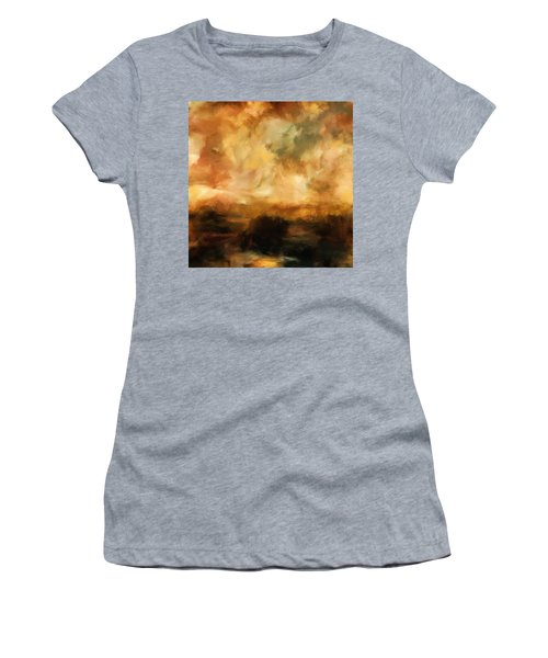 Landscape At Sunset Women's T-Shirt