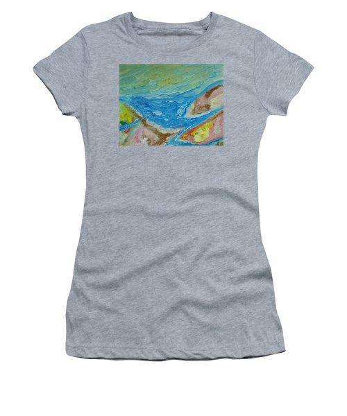 Landscape. Fantasy 12. Top View. Women's T-Shirt (Athletic Fit)