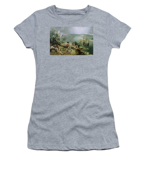Landscape With The Fall Of Icarus Women's T-Shirt