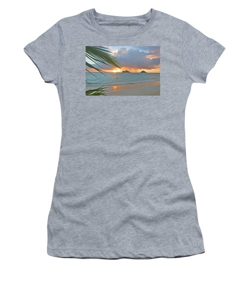 Lanikai Sunrise Women's T-Shirt (Athletic Fit)