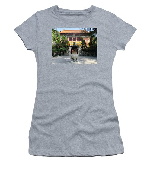 Women's T-Shirt (Junior Cut) featuring the photograph Lantau Island 45 by Randall Weidner