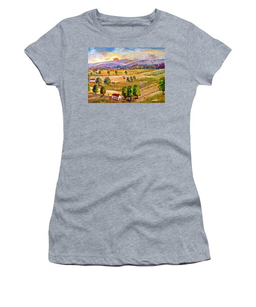 Lasithi Valley In Greece Women's T-Shirt (Athletic Fit)