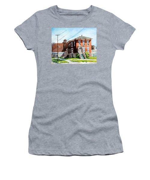 Last House Standing Women's T-Shirt (Junior Cut) by Alexandra Maria Ethlyn Cheshire