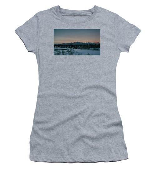 Last Light On Pagosa Peak Women's T-Shirt