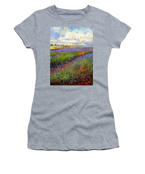 Lavender Field Women's T-Shirt