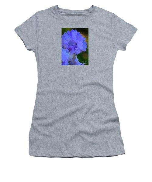 Lavender Curlicue Iris  Women's T-Shirt