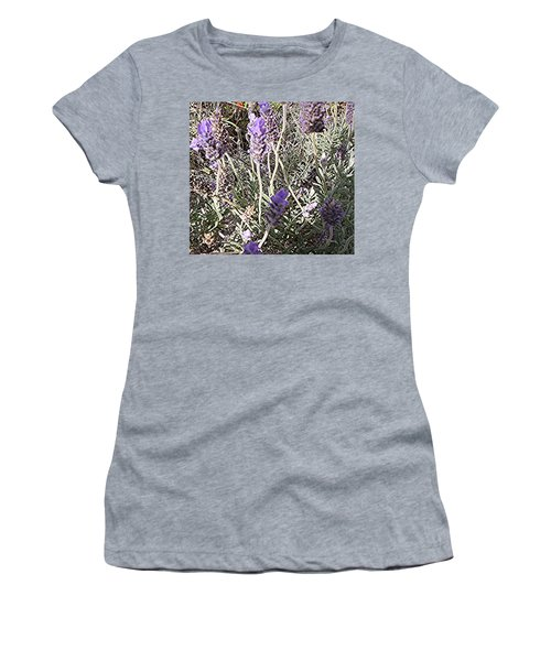 Lavender Moment Women's T-Shirt (Athletic Fit)