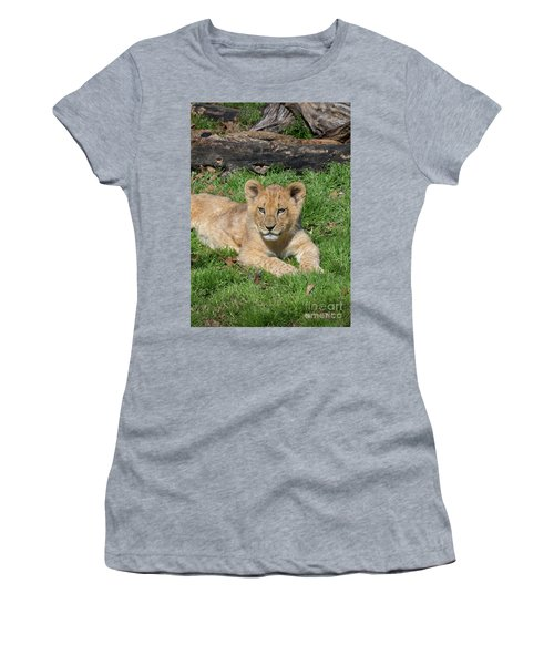 Lazy Little Leo Women's T-Shirt (Athletic Fit)