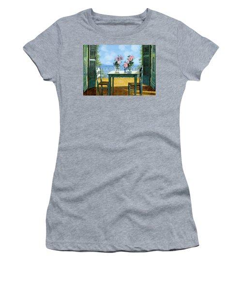 Le Rose E Il Balcone Women's T-Shirt