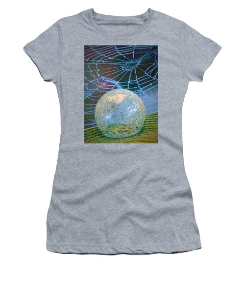 Women's T-Shirt (Junior Cut) featuring the photograph Learning by John Glass