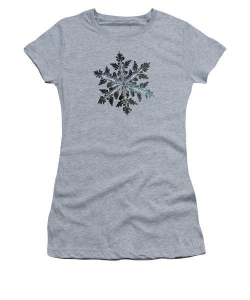 Leaves Of Ice, Panoramic Version Women's T-Shirt