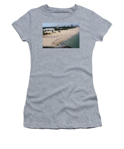 Leaving Ft Lauderdale Women's T-Shirt (Athletic Fit)