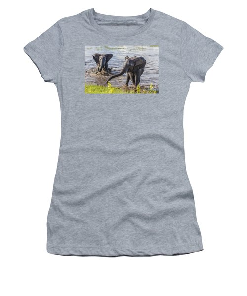 Leaving The River Women's T-Shirt (Athletic Fit)