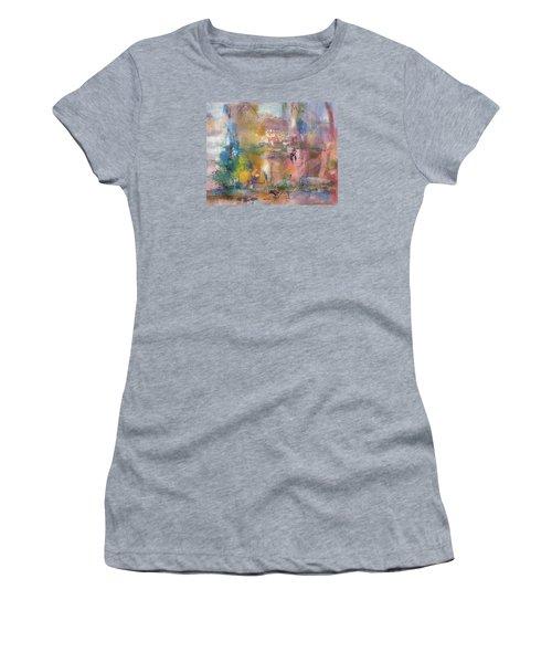 Lemonade From Lemons Women's T-Shirt (Junior Cut) by Becky Chappell
