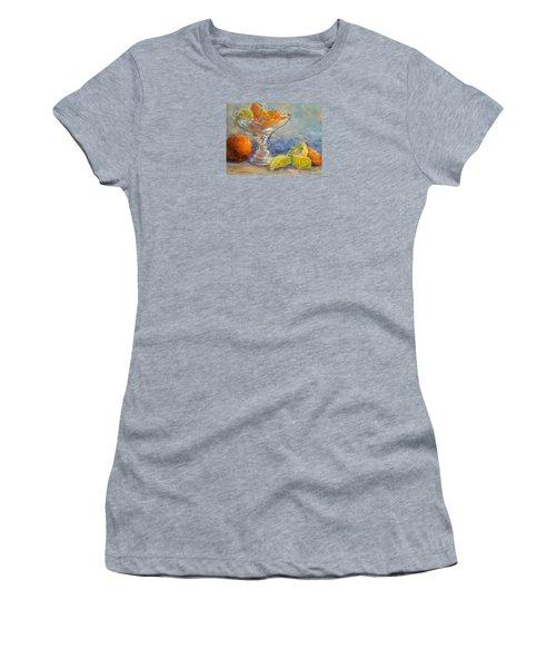 Lemons And Oranges Women's T-Shirt (Junior Cut) by Jill Musser
