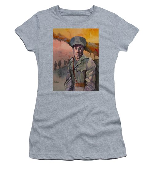 Leonard Keysor Vc Women's T-Shirt (Athletic Fit)