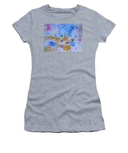Leopard Hide And Seek Women's T-Shirt