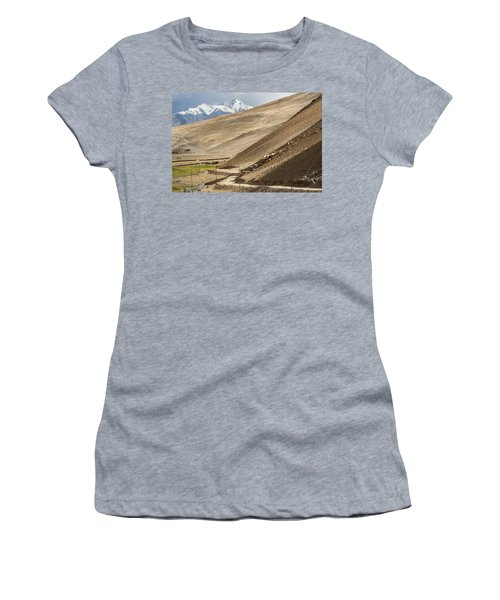 Less Traveled Women's T-Shirt (Athletic Fit)