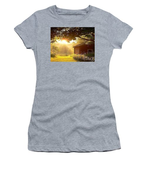 Let There Be Light Women's T-Shirt (Athletic Fit)