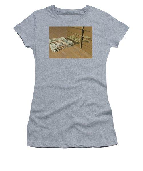 Level One Money Manifestation  Women's T-Shirt (Athletic Fit)