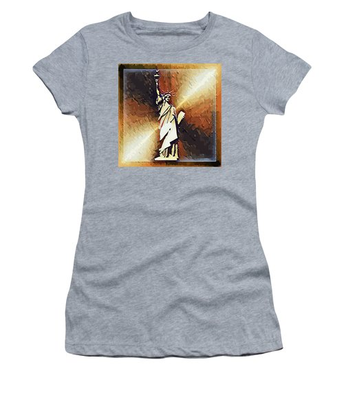 Liberty On The Hudson Women's T-Shirt
