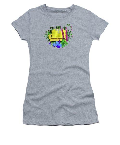 Life Among The Garden Women's T-Shirt