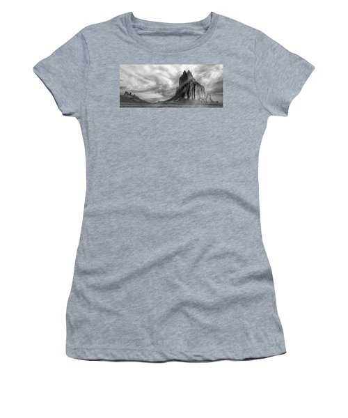 Light On Shiprock Women's T-Shirt (Athletic Fit)